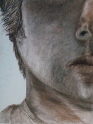 1/4 face Chin