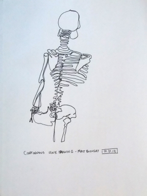 Continuous Skeleton