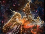 pillars in the carina nebula