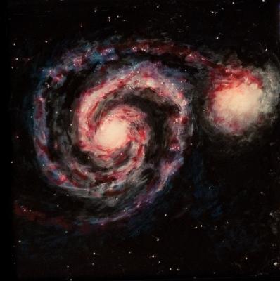 spiral galaxy m51