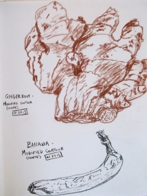 ginger banana contour