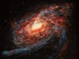 spiral galaxy m105